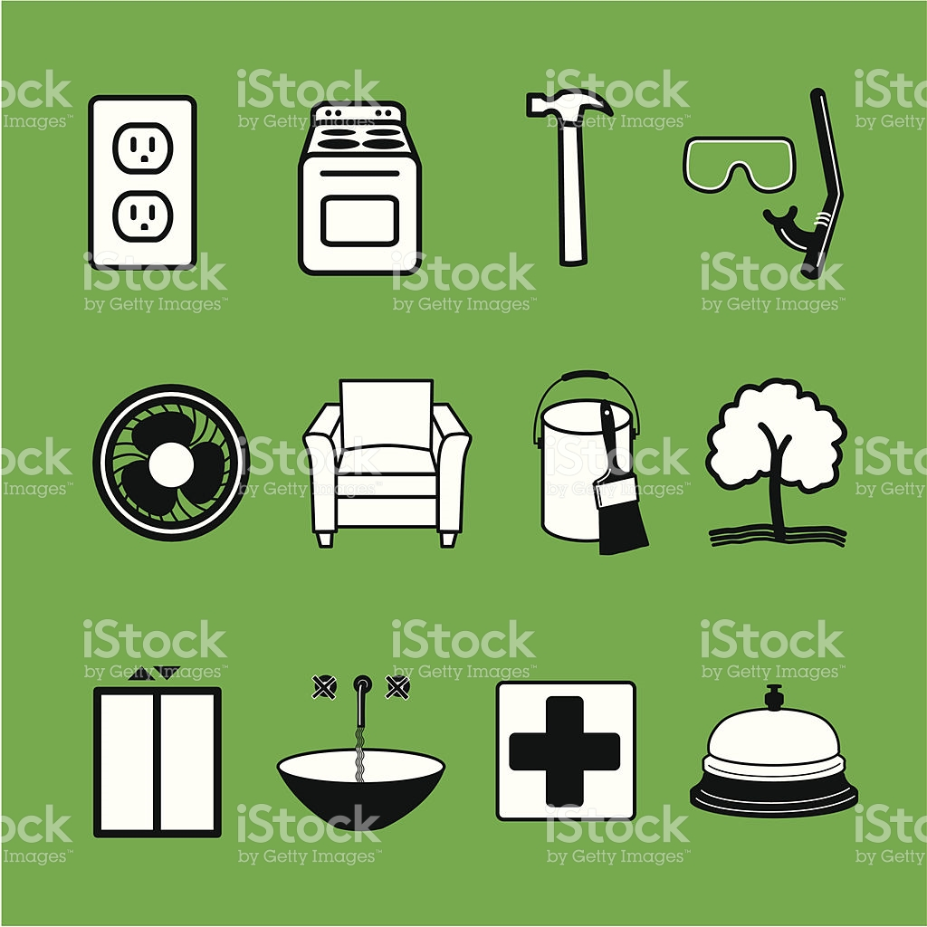 Buyrequest Home Improvement Icons stock vector art 165039724.