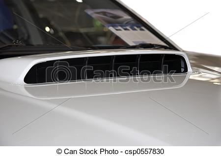 Stock Photography of Air Intake.