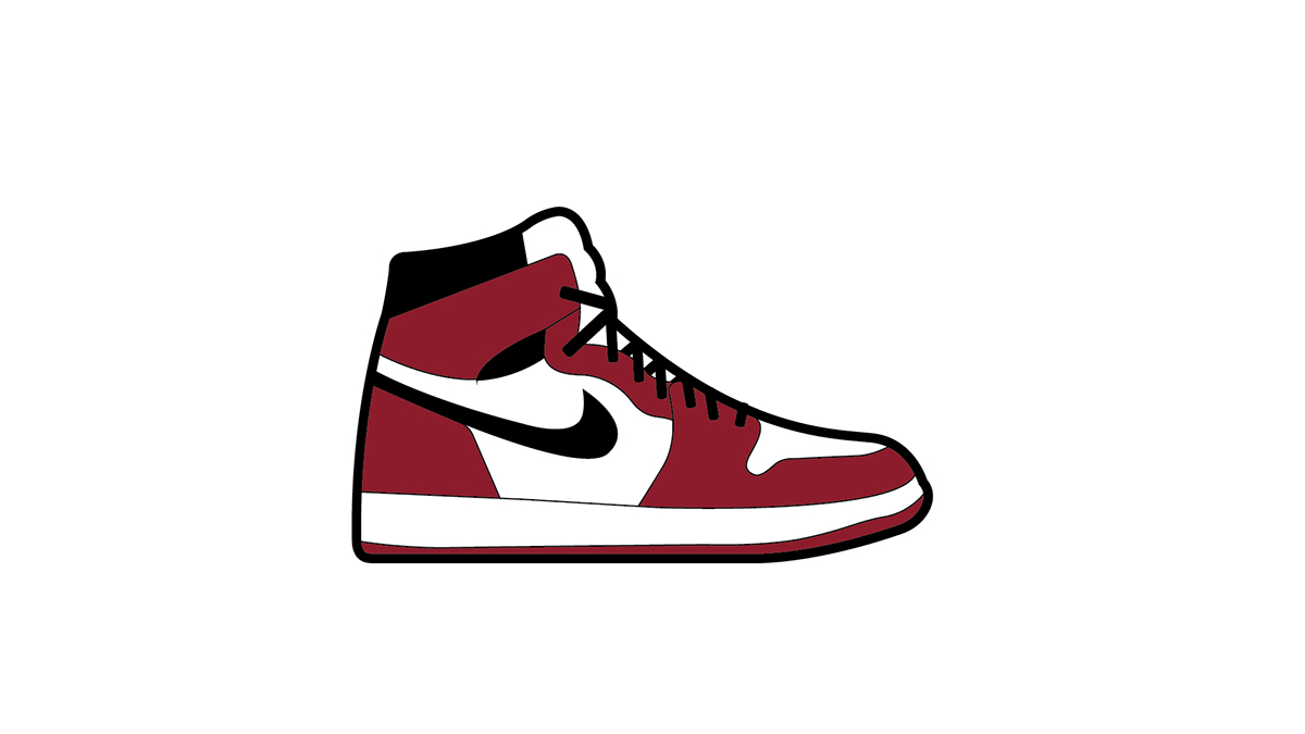 Air Jordan 1 Clipart.