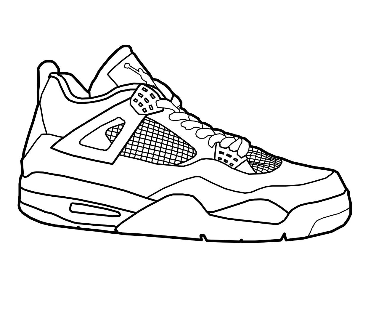 Free Jordan 4 Cliparts, Download Free Clip Art, Free Clip.