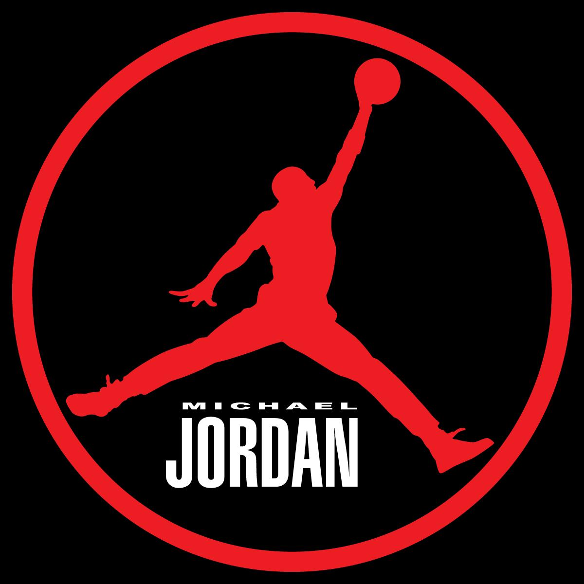 Download Free png Michael Jordan Jumpman Basketball Logo.