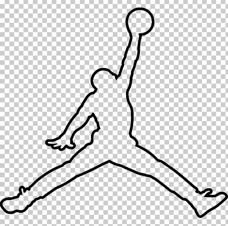 Jumpman Air Jordan Logo Drawing PNG, Clipart, Air Jordan.