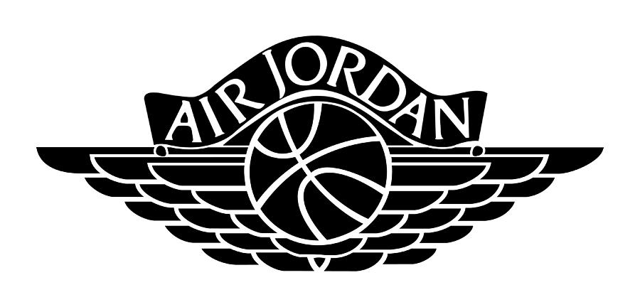 Air Jordan Wings Logo.