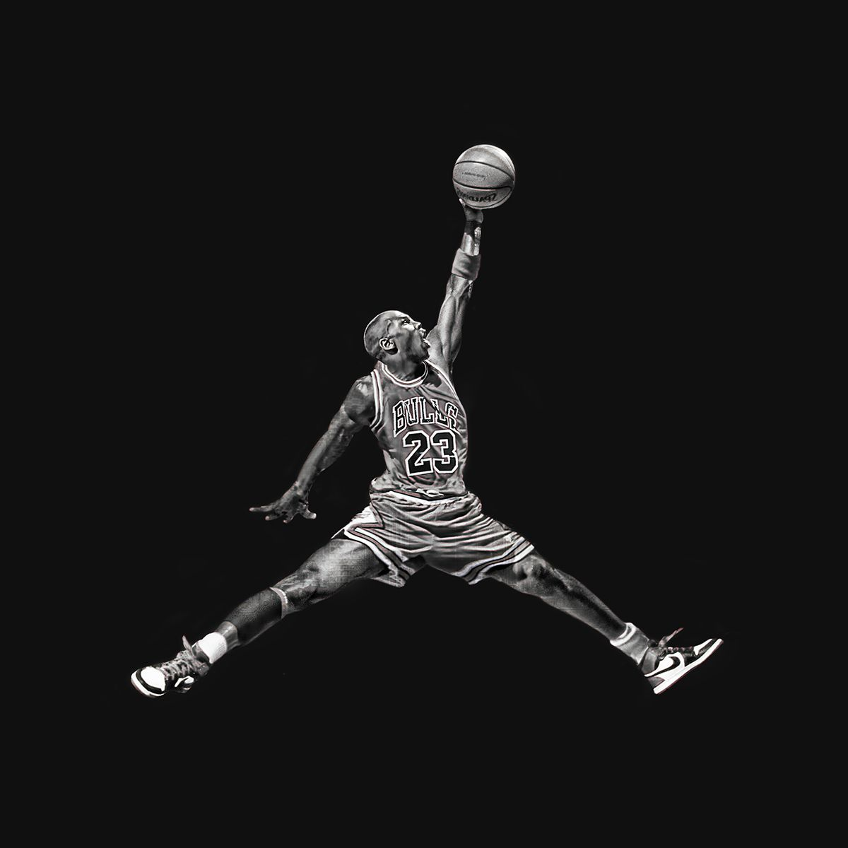 Jumpman Logo in Real Life on Behance.
