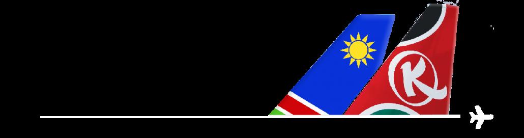 Kenya Airways signs code.