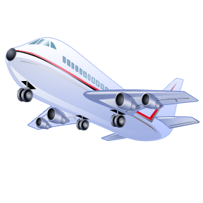 Delta airlines clip art.