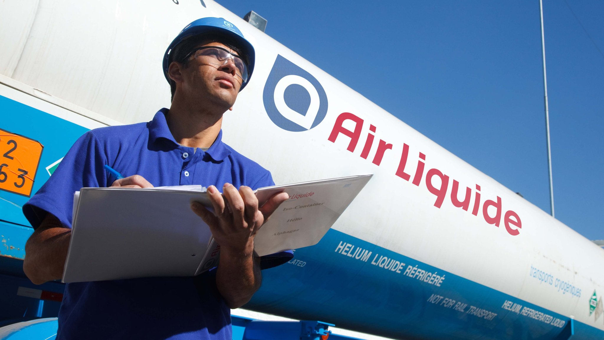 Air Liquide chief welcomes return of growth.