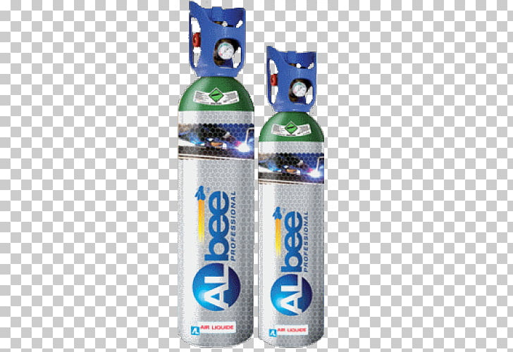 Gas cylinder Argon Welding Air Liquide, gas bottle PNG.