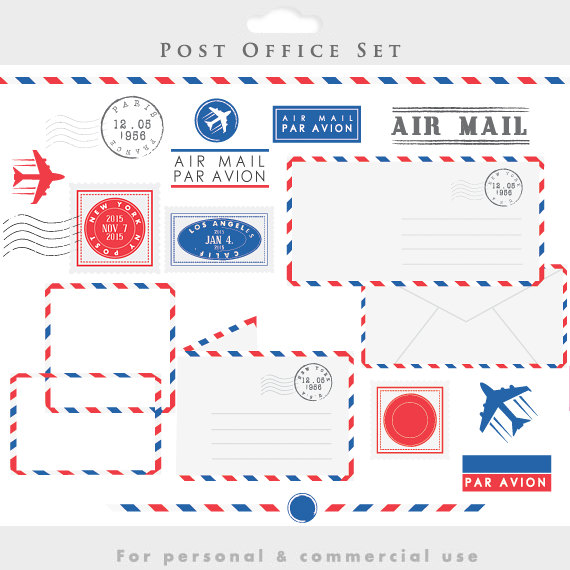 Post office clipart.