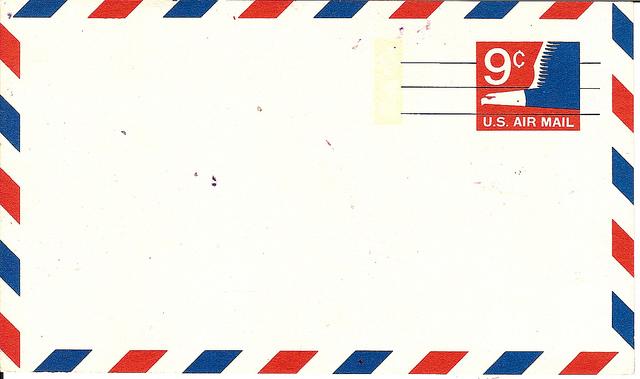 Airmail envelope clipart.
