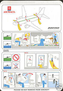 Details about Safety Card.