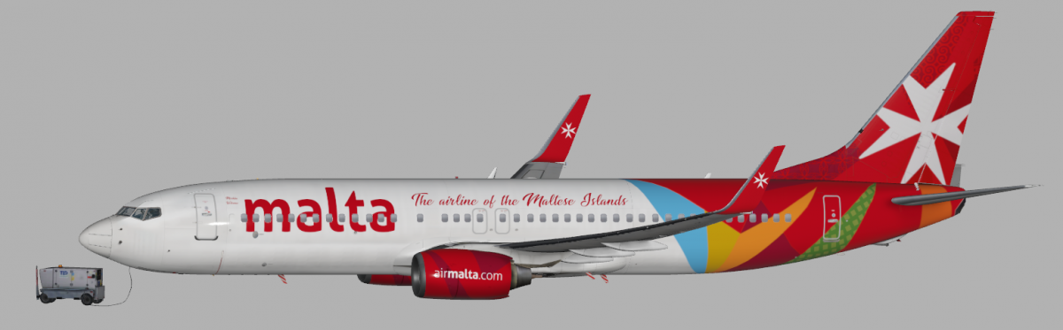 FICTIONAL) AIR MALTA B737 ZIBO.