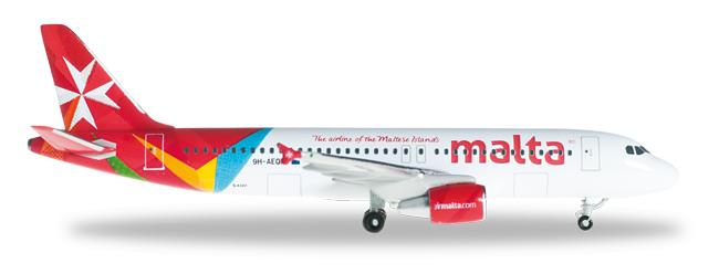 1/500 Herpa Air Malta Airbus A320.