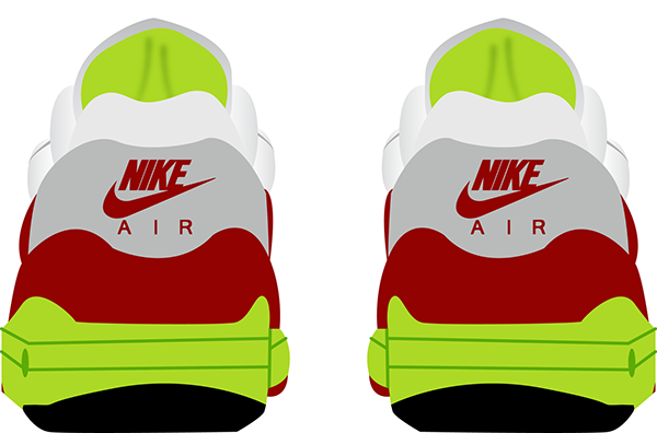 Nike Air Max 1 Day on Student Show.