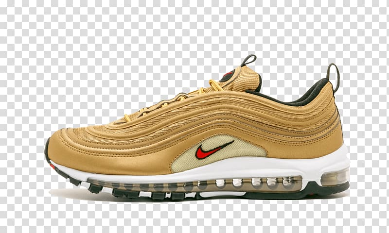 Nike Air Max 97 Sneakers Shoe, nike transparent background.