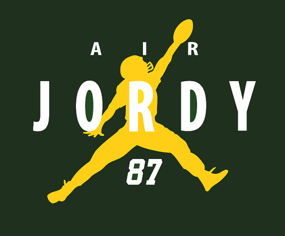 Air Jordy Green Bay Packers Jordy Nelson T.