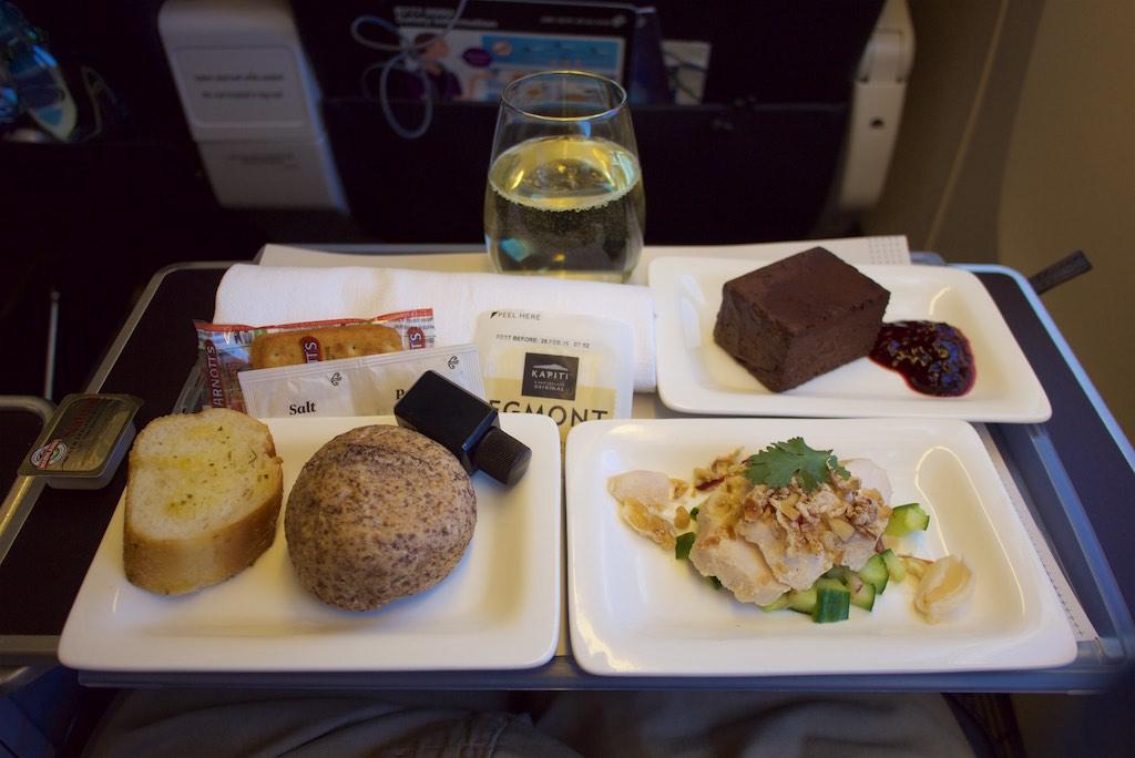 Air New Zealand Premium Economy 777.