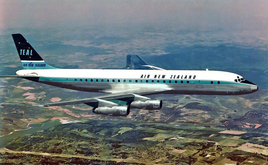 AIR NEW ZEALAND's FLIGHT ENGINEERS: DOUGLAS DC.