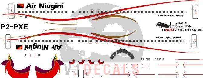 Air Niugini Boeing 737.