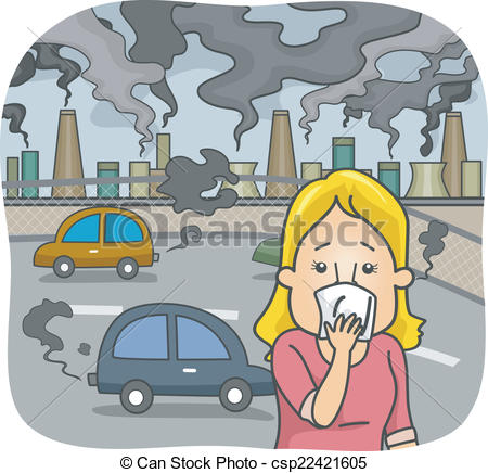 Clipart Of Air Pollution.