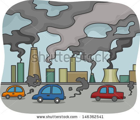 Air Pollution Stock Images, Royalty.