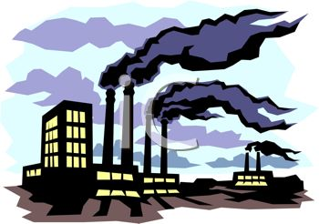 Pollution cliparts.