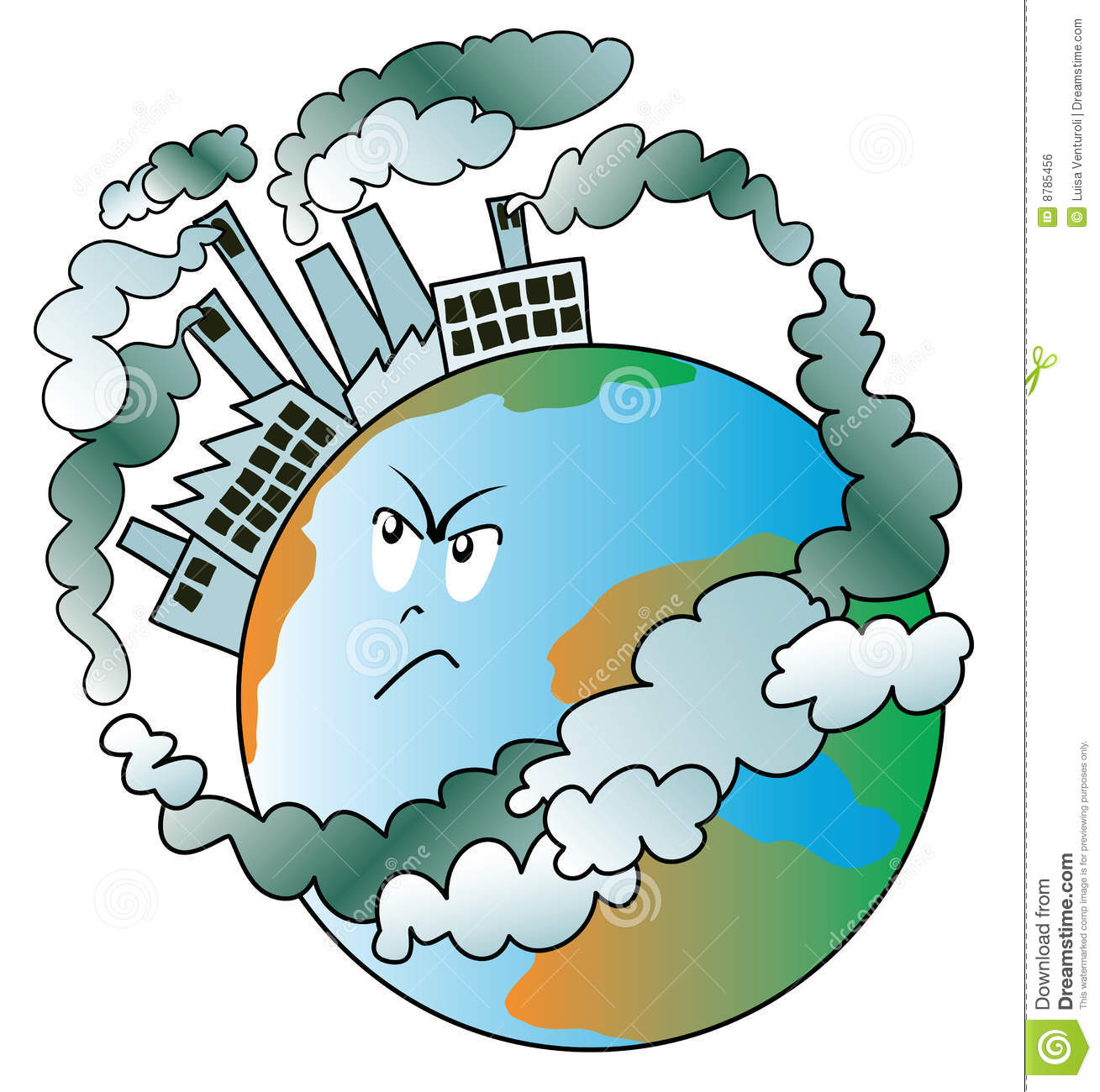 Air pollution images clip art.