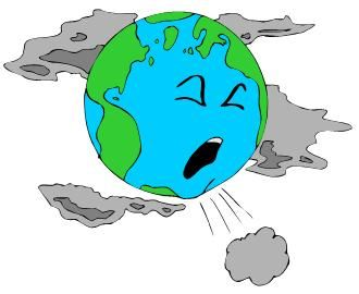 Earth Recycle Clip Art · Air Pollution Clip Art  in 2019.