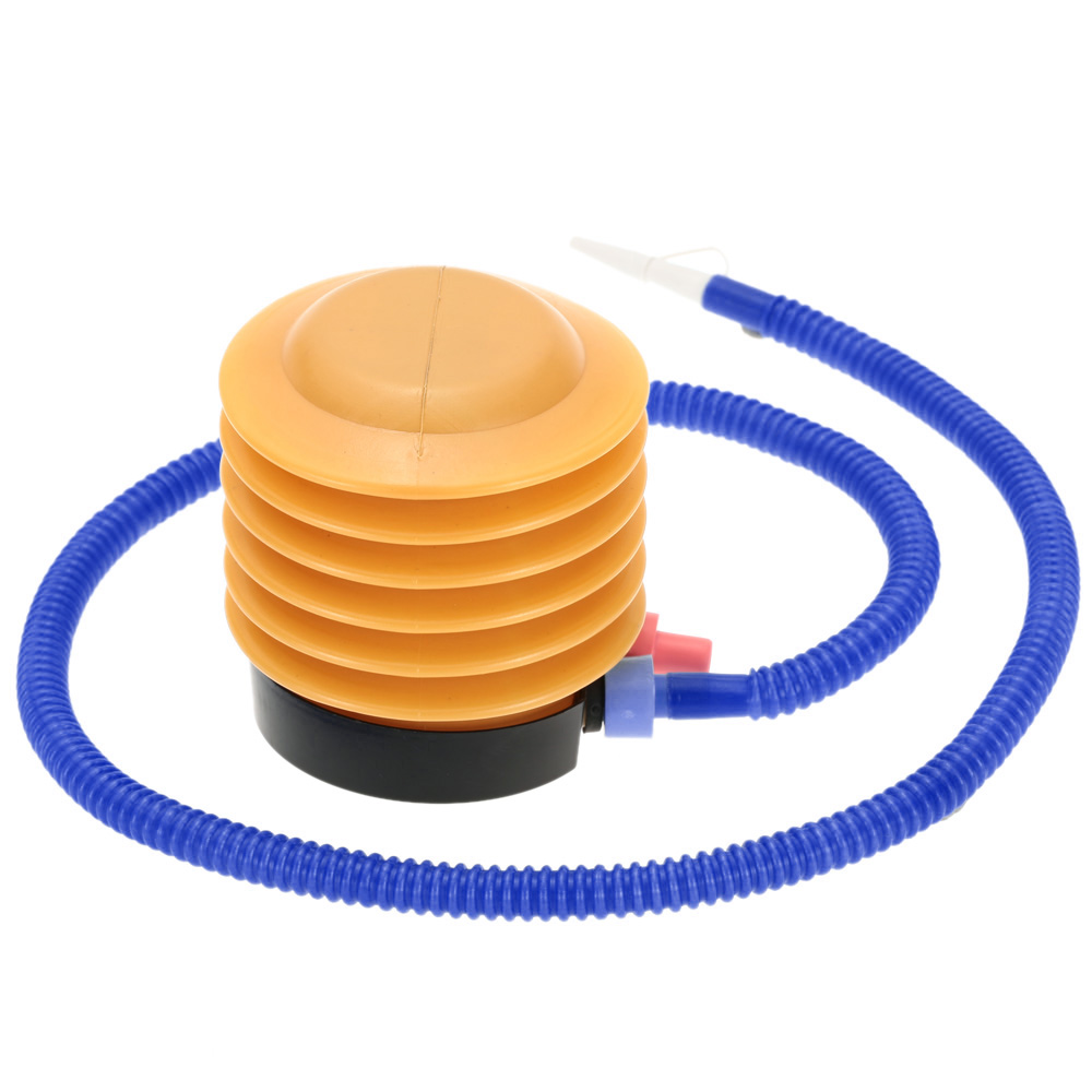 Mini Plastic Foot Air Pressure Pump Inflatable Air Foot Pump for.