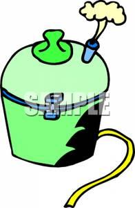 Air exerts pressure clipart.