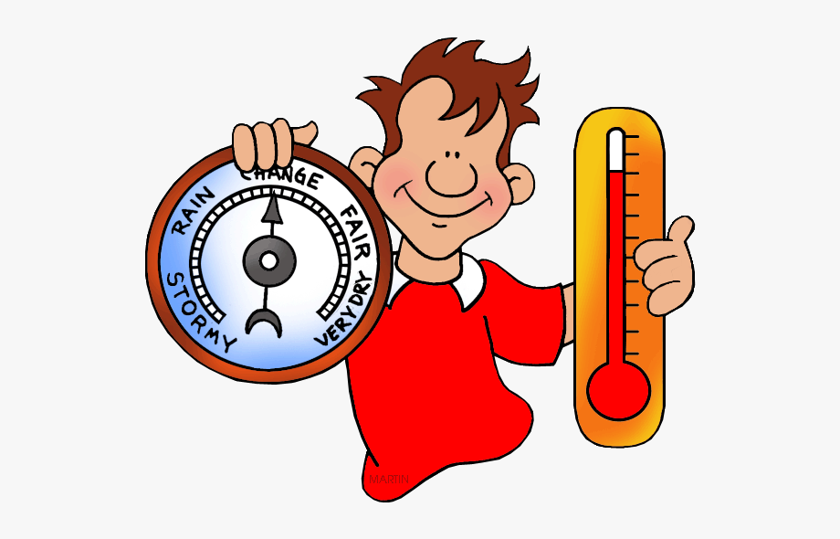 Weather Thermometer Clipart.