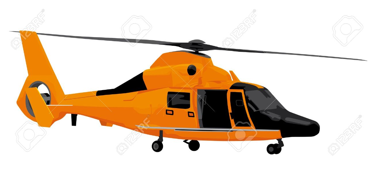 Rescue Helicopter Illustration Royalty Free Cliparts, Vectors, And.