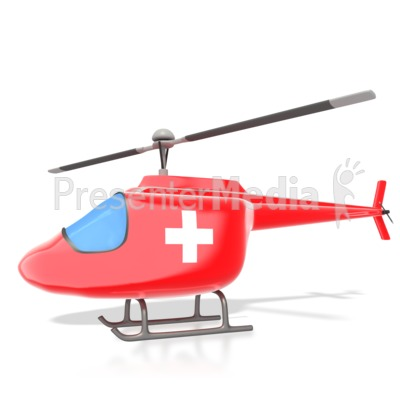 Medical Helicopter.