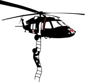 Blackhawk Helicopter Silhouette.