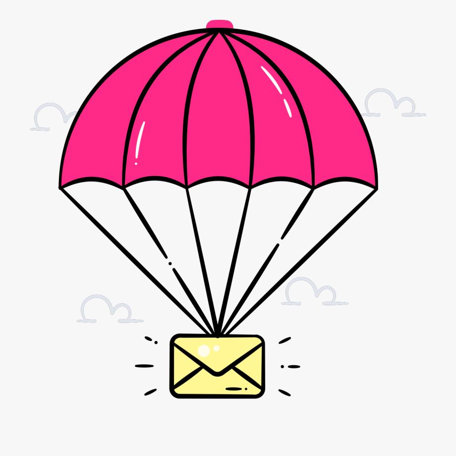 Clip Art Parachutes , Transparent Cartoon, Free Cliparts.