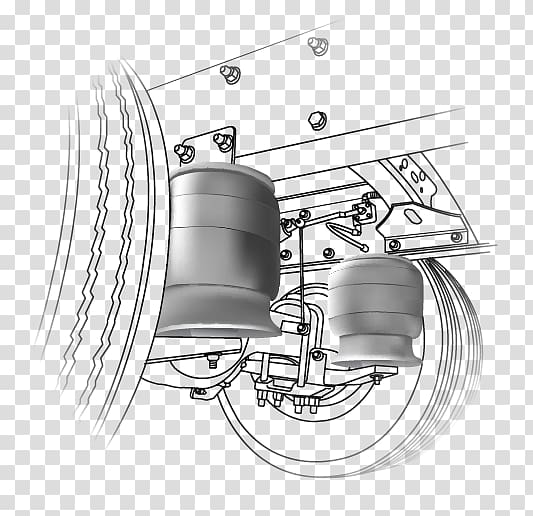 Car Technology, air suspension transparent background PNG.