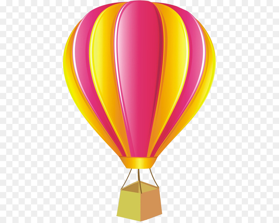 Hot Air Balloon Cartoon png download.