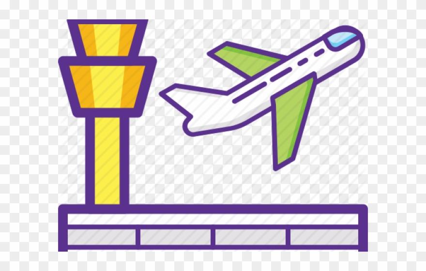 Airport Clipart Aerodrome.