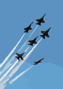Air Show Clip Art.