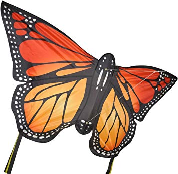 Monarch butterfly kite in orange by Spirit of Air: Amazon.co.
