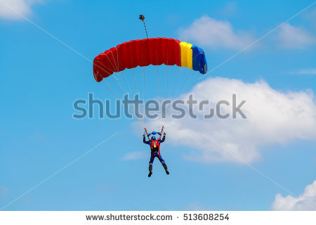 Parachute Jump Stock Photos, Royalty.