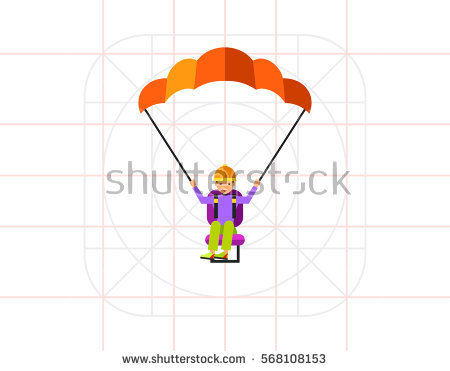 Paragliding Stock Vectors, Images & Vector Art.