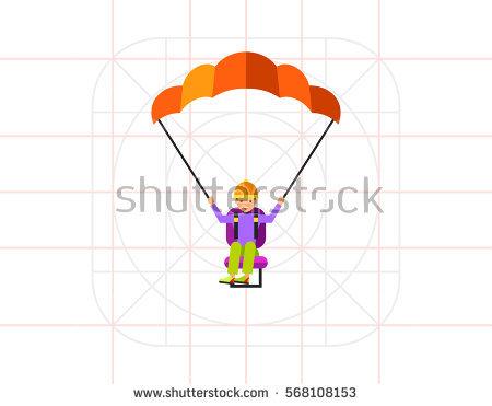 Paragliding Stock Vectors, Images & Vector Art.