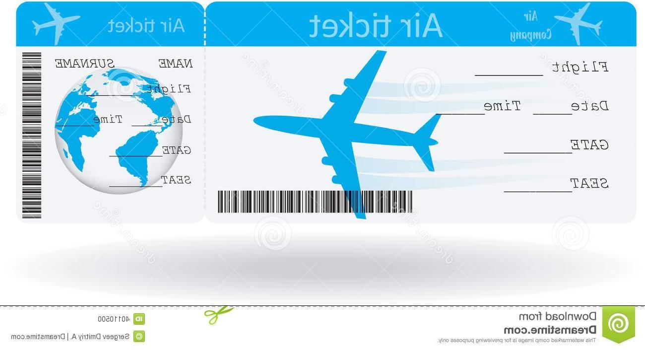 Airline ticket clipart 8 » Clipart Station.