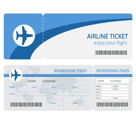 12,114 Flight Ticket Stock Illustrations, Cliparts And Royalty Free.
