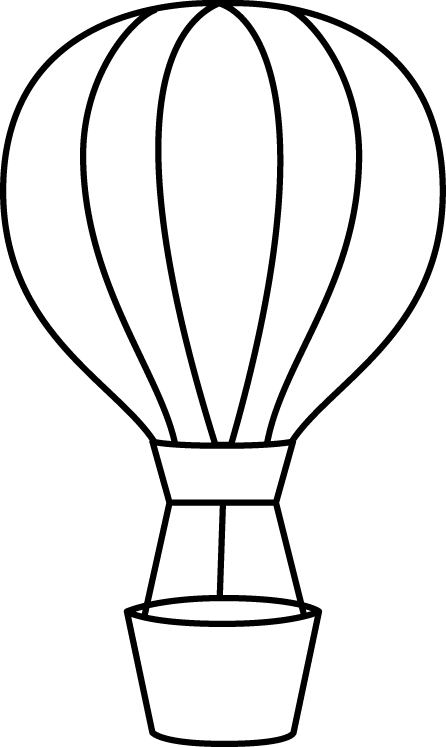 Hot Air Balloon Clip Art.