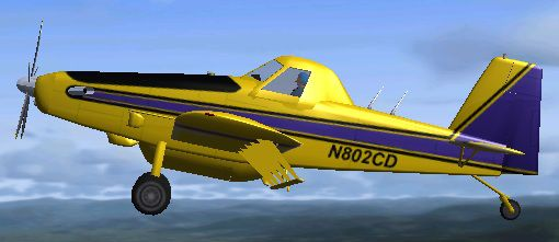 Air Tractor 802A for FSX.