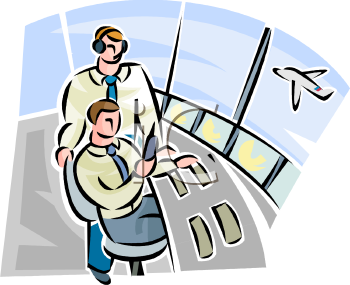 Air traffic control clip art free.