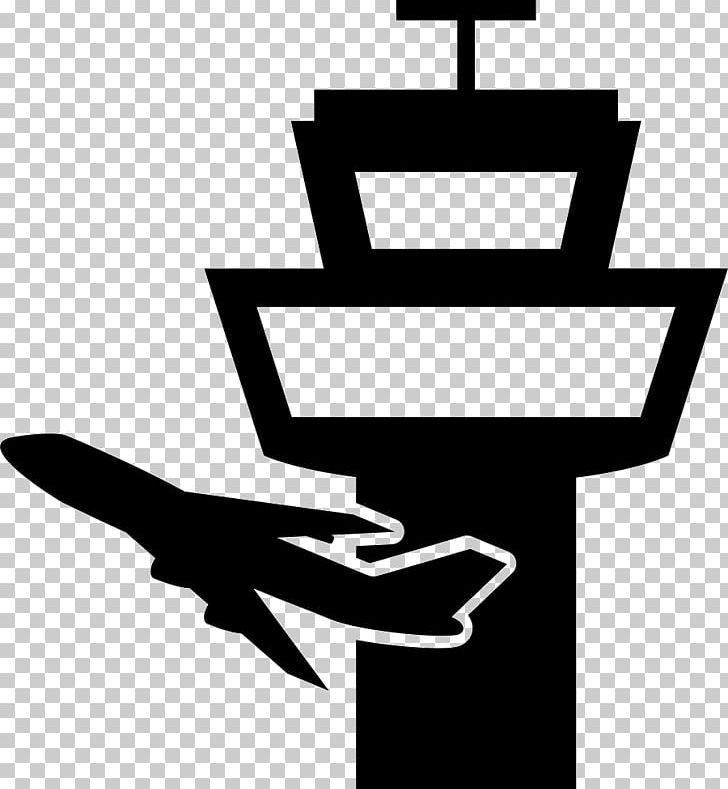 Air Traffic Control Airplane Airport Control Tower PNG.