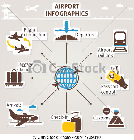 Air traffic control tower Clip Art Vector and Illustration. 167.